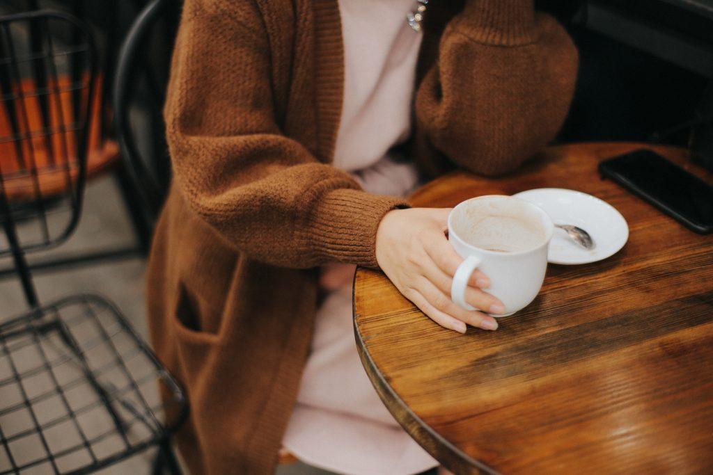Kaffee zum Bleiben.