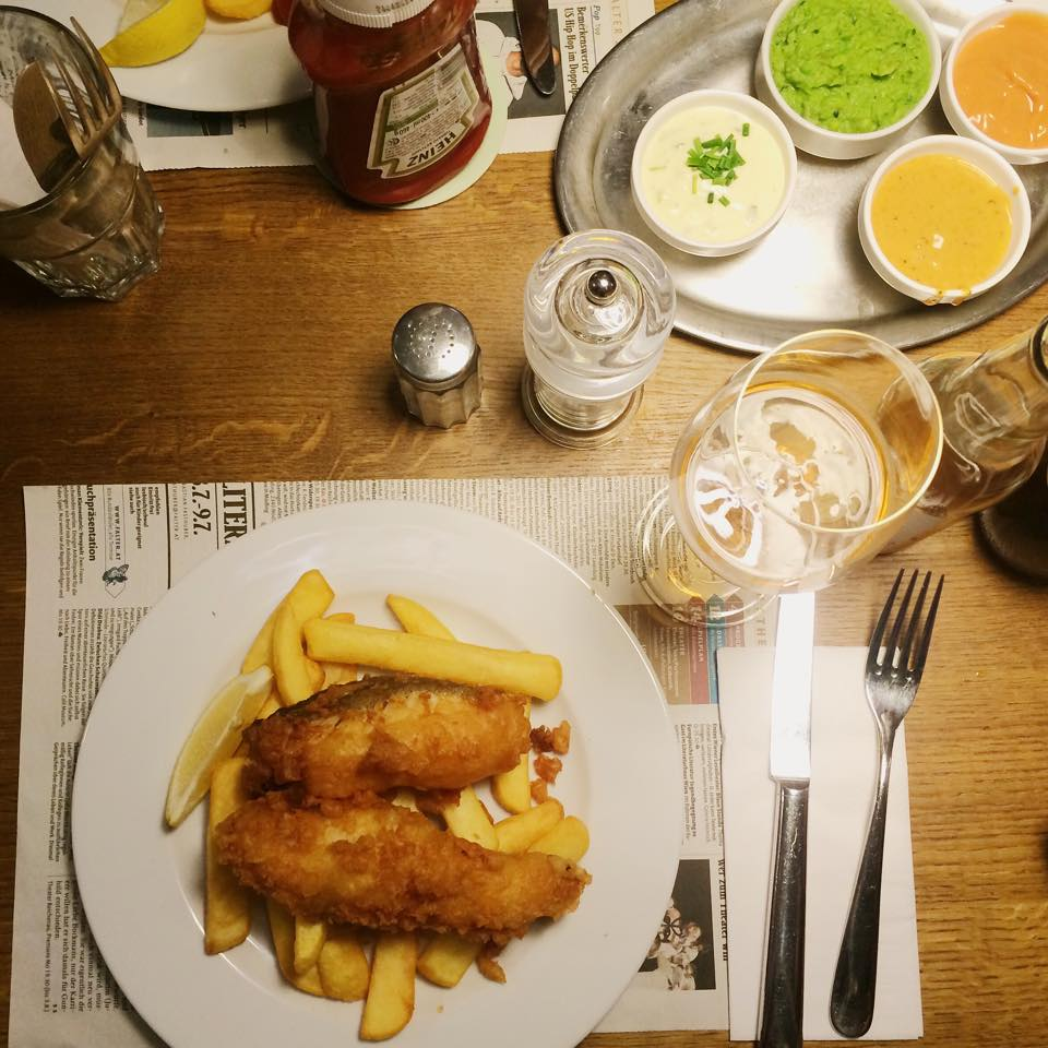 Fish and Chips im Reisinger's © Sarah Krobath