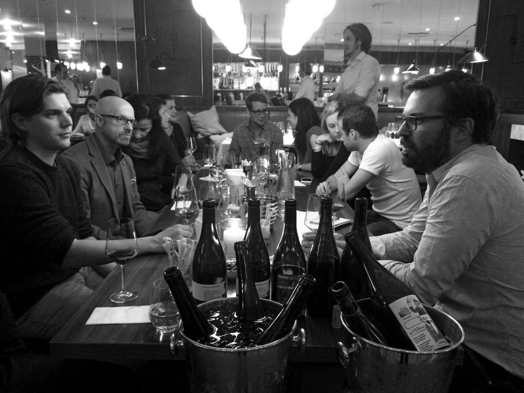 Schon vor dem Dinner kam im Gespräch mit Franz Weninger viel Spannendes auf den Tisch © Sarah Krobath