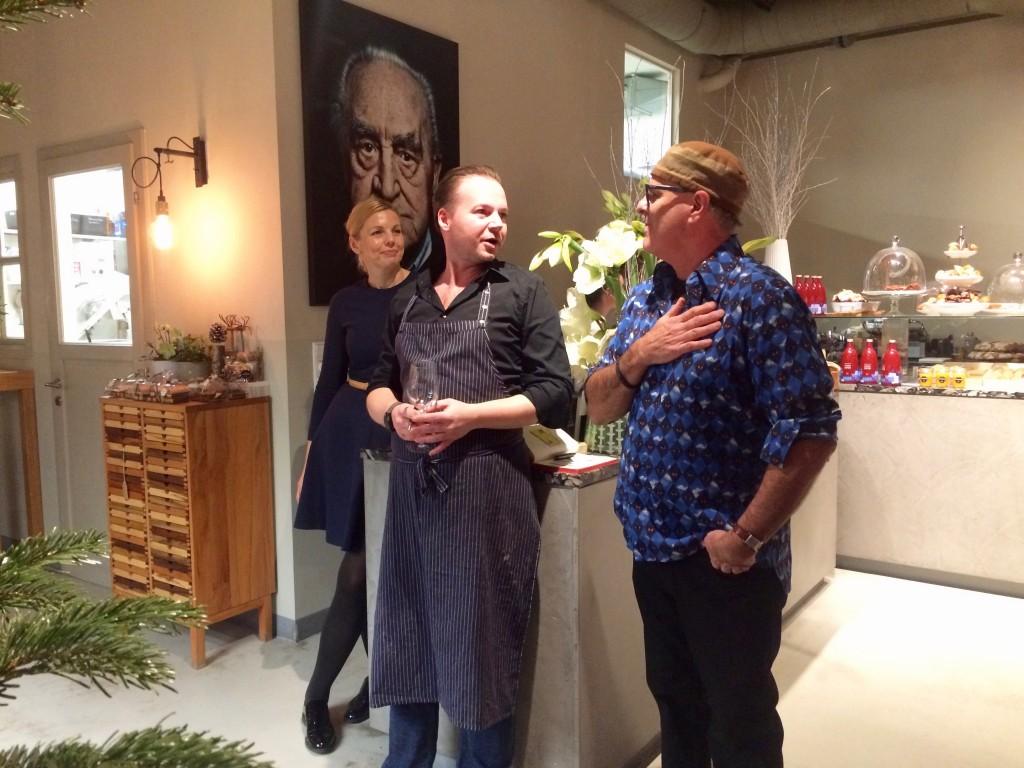 Praktikum beim Foodhunter: Mark Brownstein zu Gast bei Marco Simonis