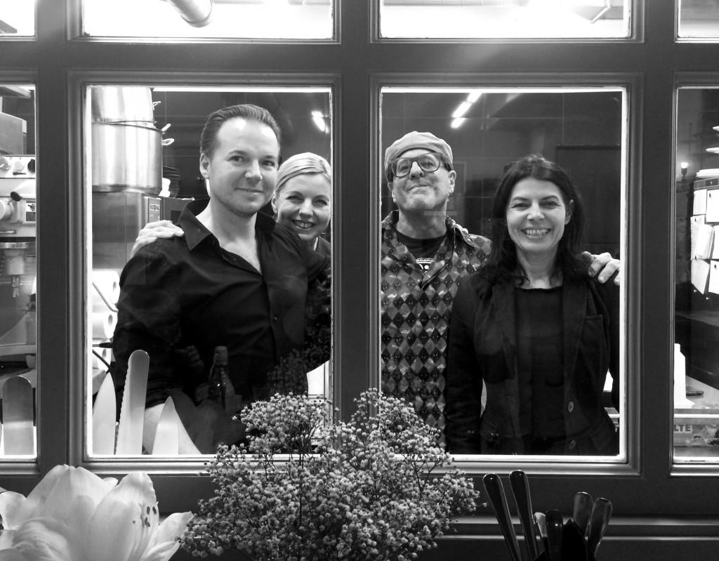 Foodhunter unter sich: Marco, Ulli, Mark und Gabi ©Sarah Krobath