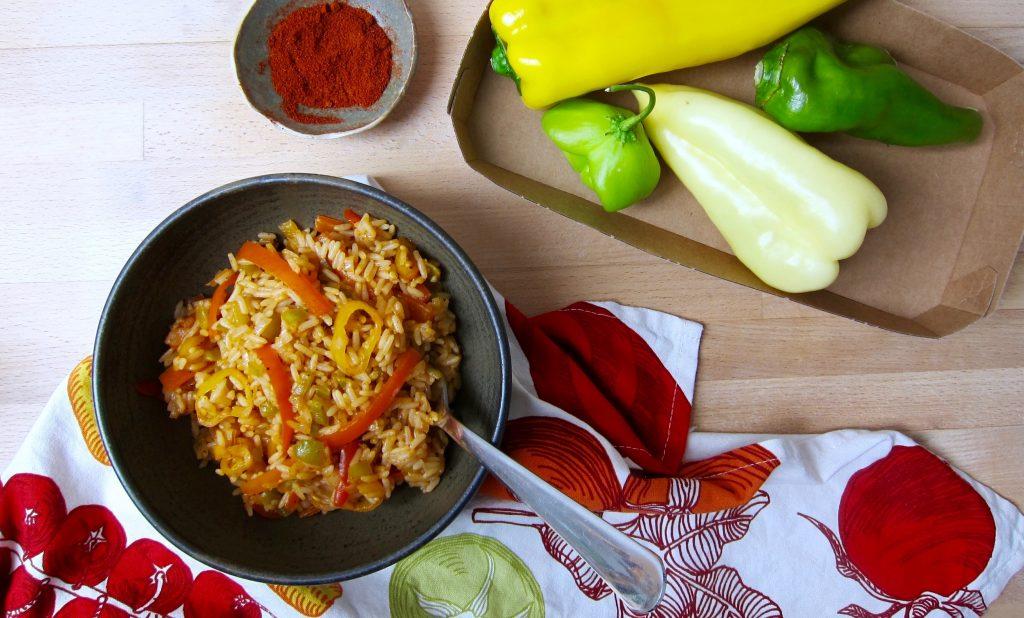 Paprika-Raritäten-Reis © Sarah Krobath für Ja! Natürlich