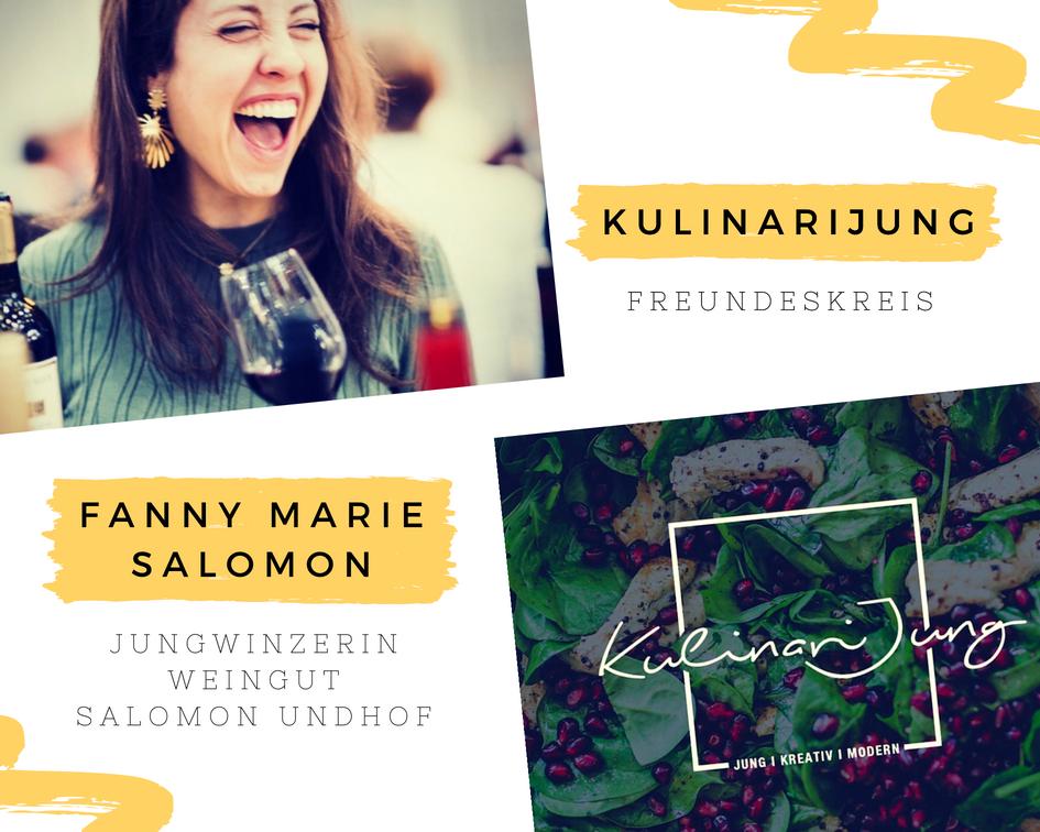 Der KulinariJung Freundeskreis: Fanny Marie Salomon