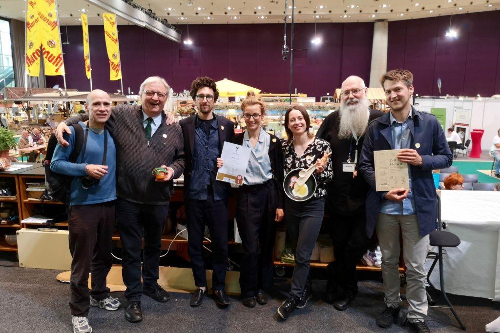 """Prix Prato: Gold für """"Zeit für Fleisch!"""""""