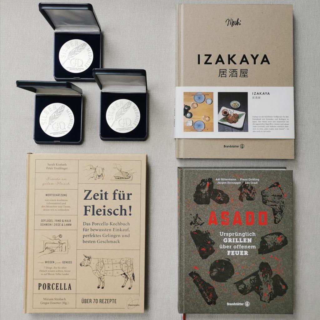 """3 x Silber für """"Zeit für Fleisch!"""", """"Izakaya"""" und """"ASADO"""""""